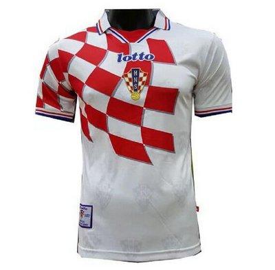 Camisa Croácia 1998 Copa do Mundo Home (Uniforme 1) 29e1d402c9f9d