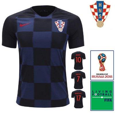 12eb0ead96 Camisa Croácia 2018-19 Oficial Nike Away (Uniforme 2)