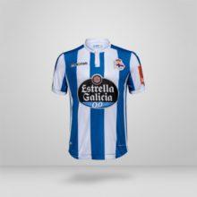 Camisa La Coruña Macron 2018-19 Home (Uniforme 1) 3563378ac7754