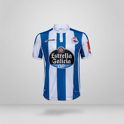 d4a093a4e Camisa La Coruña Macron 2018-19 Home (Uniforme 1)