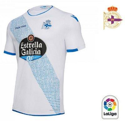 4918869bb Camisa La Coruña 2018-19 Macron Third (Uniforme 3) ...