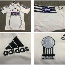 Camisa Real Madrid 2006 2007 Adidas Home Uniforme 1