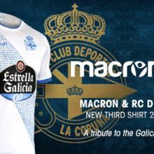 Camisa La Coruña 2018-19 Macron Third (Uniforme 3)