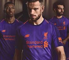 Camisa Liverpool New Balance 2018-19 Away II Jogador (Uniforme 2)