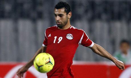 Salah na Seleção sub-23 Egito 2012