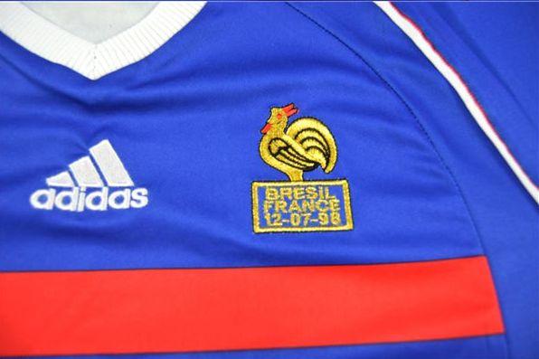 Camisa França Adidas 1998 Copa do Mundo Uniforme Home 1 38fe10c130335