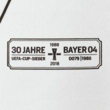 Camisa Bayer Leverkusen Branca Jako 2018-19 Away II (Uniforme 2)