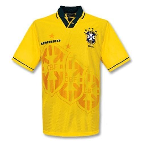 Camisa Brasil 1994 Umbro Copa do Mundo Tetra Home (Uniforme 1) ca3b3cd693c93