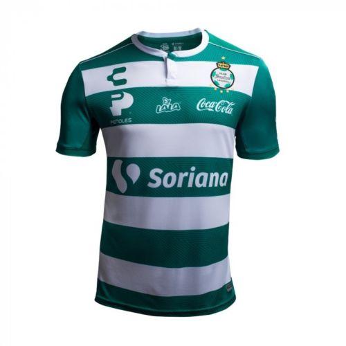Camisa Santos Laguna Charly Oficial 2018-19 Home I (Uniforme 1) 1eebe601be44a