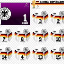 Camisa Alemanha 1990 Copa do Mundo Adidas Home (Uniforme 1)