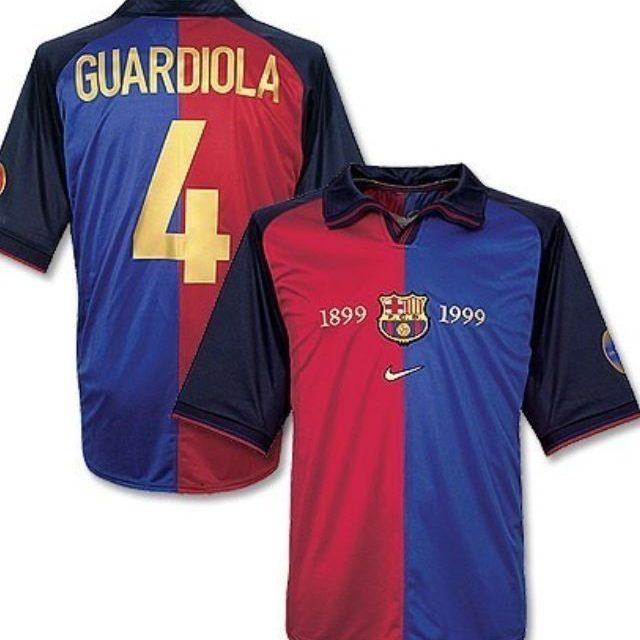 6f10c3ae7f ... Camisa Centenário Barcelona 1899-1999 Nike Retro ...