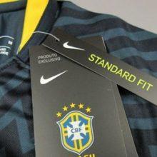 Camisa Pré Jogo Brasil Nike 2018-19 Copa do Mundo