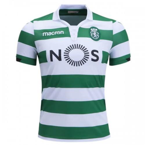 Camisa Sporting Clube de Portugal 2018-2019 Macron Home (Uniforme 1) 957b420f77162