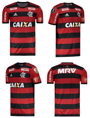 51bfdb9b22 Camisa Flamengo 2018 2019 Home (Uniforme 1)