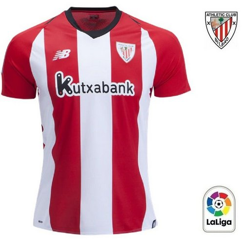 Camisa Athletic Bilbao 2018 2019 Home (Uniforme 1) 2abfb07bc86cb