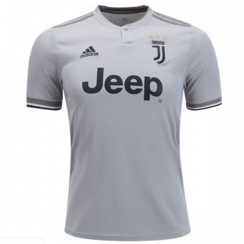 3141884aa2c57 Camisa Juventus 2018 2019 Away (Uniforme 2) Cinza