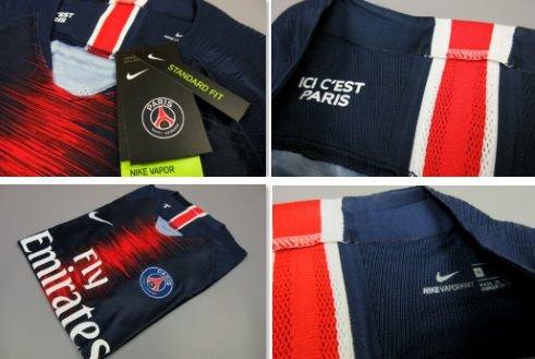 007e61c089 Camisa Paris Saint-Germain PSG 2018 2019 VaporKnit Jogador Home (Uniforme 1)
