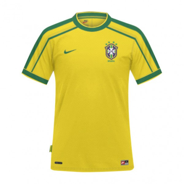 Camisa Brasil Copa Do Mundo De 1998 – Nike ... 9b7fa8e8d595b