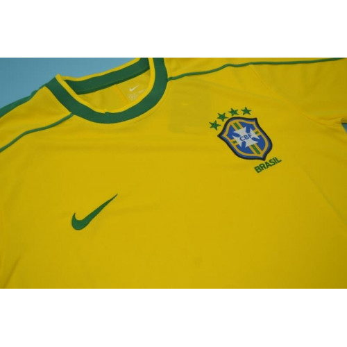 ... Nike Camisa Brasil Copa Do Mundo De 1998 ... 71efdf9a6e583