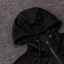 Conjunto Agasalho Tottenham Suit Black 2019 Capuz