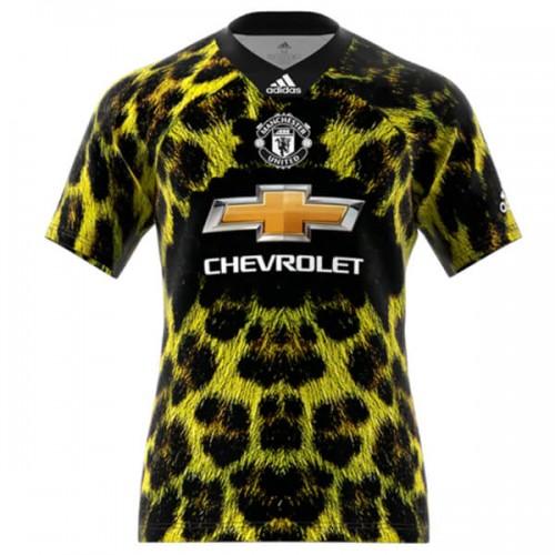 6379f7552 Camisa Manchester United EA Sports 2018 2019 Adidas