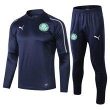 Conjunto de Treinamento Palmeiras 2019 2020 Puma Training Suit Dark Blue