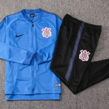 Conjunto Agasalho Corinthians 2018 2019 Training Suit Blue