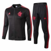 Conjunto de Treino Flamengo 2019 2020 Training Suit Black