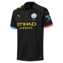 Nova Camisa do Manchester City Puma 2019 2020 Preta Away (Uniforme 2)