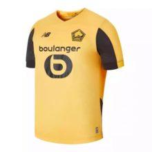 Camisa do Lille 2019 2020 Amarelo Away (Uniforme 2)