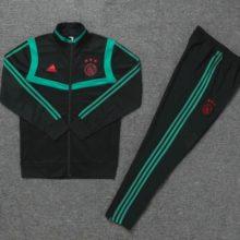 Conjunto de Treino Ajax 2019 2020 Training Suit Black Green