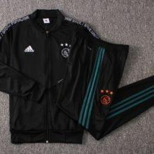 Conjunto Ajax 2019 2020 Adidas Training Suit Low Neck Black